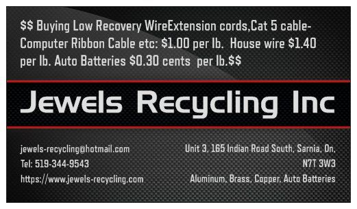 Buying Low Recovery Wire @ $1.00Ib Ext Cords,Ribbon Cable,Cat 5 Cable Etc: